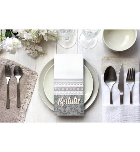 Stalo kortelė - Medinis vardas