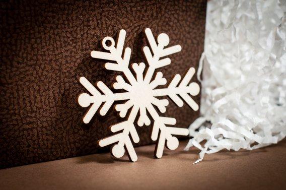 Kalėdinis žaisliukas (snaigės)