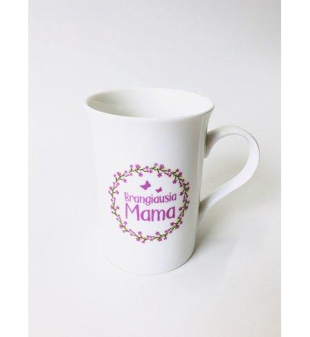 """Porcelianinis puodelis """"Brangiausia mama"""""""