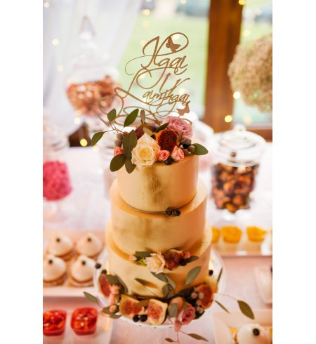 Vestuvinis torto smeigtukas (Pora)