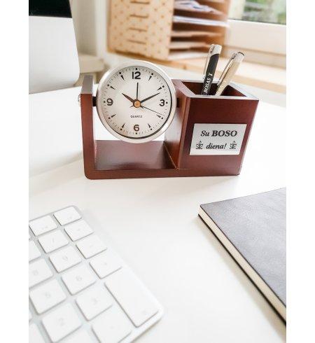 Laikrodis-pieštukinė Boso dienai