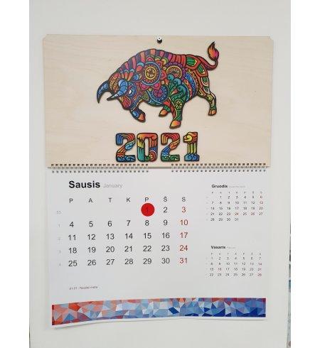 Sieninis kalendorius- 2021m.