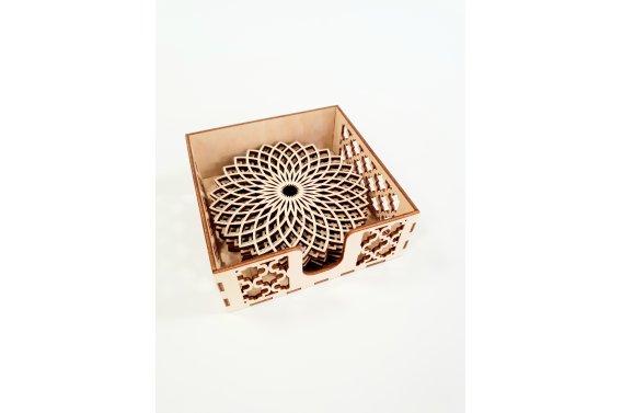 Padėkliukų komplektas su dėžute (Antra kolekcija)