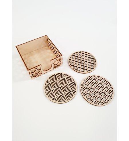 Padėkliukų komplektas su dėžute (Pirma kolekcija)