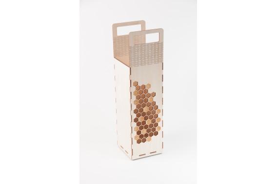 Dėžutė šampano buteliui (Orn. korys)